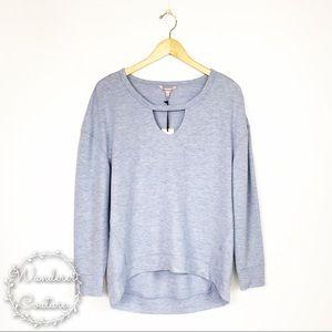 Juicy Couture Cutout Raglan Sweatshirt